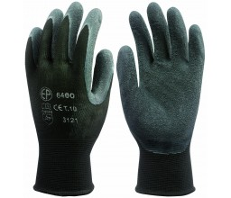 GANTS NYLON ENDUITS LATEX...