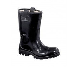 BOTTE SECURITE CUIR T40