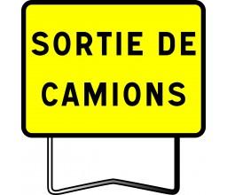 PANNEAU SORTIE DE CAMIONS